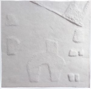 ARTEFAKES - Prägedruck VP5 - 40 x 40 x 0,5 cm