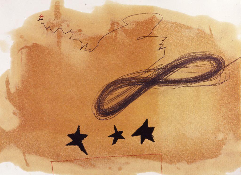 Sternbild Nr. IIentstanden im Zusammenhang mit dem Ultimatum zum Golfkrieg  15.1.1991